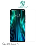 【愛瘋潮】99免運 NILLKIN Redmi 紅米 Note 8 Pro Amazing H 防爆鋼化玻璃 螢幕保護貼