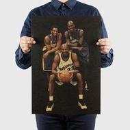 ★現貨★當日出貨★柯比(Kobe)&喬丹(Jordan)&Garnett(加奈特) 牛皮紙海報 NBA籃球 喬喜屋