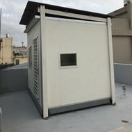 10呎組合型貨櫃屋完美隔熱