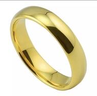 แหวนเกลี้ยง 1-3สลึง แหวนเศษทองเยาวราช แหวนหุ้มทองคำแท้ งานไมครอน กว้าง3มิลแหวนต่งาน ิแหวนหมั้นR-06