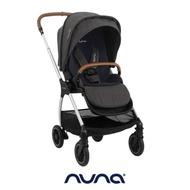 荷蘭nuna-Triv嬰兒手推車(時尚黑/冰霜灰)