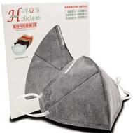 呼立淨-高效科技濾網口罩1入(台灣獨家技術,過濾品質優於N95口罩、活性碳口罩)