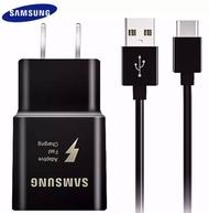 ชุดชาร์จ Samsung สายชาร์จ +หัวชาร์จ ของแท้ Adapter FastCharging รองรับ รุ่นS8/S8+/S9/S9+/S10/S10E/A8S/A9star/A9+/C5pro/C7pro/C9pro/note8/note9 สายชาร์จ samsung usb type-c 1.2m Fastcharger Original ของแท้ รองรับ  รับประกัน1ปี