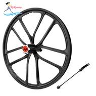[whweight]Solid 20\'\' Folding Bike Wheelset High Strength 1.5~2.125 Integrated Wheel