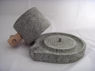 HZ06 石來運轉之特大石磨 店內擺設 庭園/園藝造景/擺飾 古早磨豆器 體驗復古新趣味