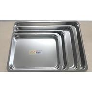 304加大淺方盤  蝴蝶牌304不鏽鋼 方盤 茶盤 滴水盤