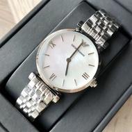 นาฬิกาข้อมือผู้หญิง Emporio Armani Classic Mother Of Pearl Dial Ladies Watch AR1682