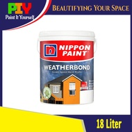 Nippon Paint Weatherbond (Colour Creation) Exterior Wall Paint / Cat Luar Dinding Rumah 18L - 18 Liter