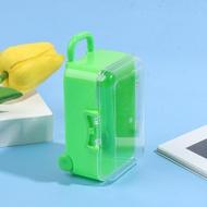 XLet กระเป๋าดินน้ำมันขนาดเล็ก,กระเป๋าเดินทางกล่องเก็บของอุปกรณ์เสริมตุ๊กตาเฟอร์นิเจอร์ของเล่นสำหรับเด็ก