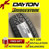 Dayton Ht100 Bridgestone tyre tayar tire (with installation) 225/65R17 235/60R18 265/60R18