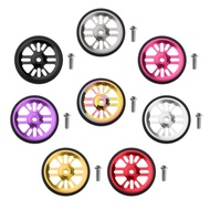 【Ready Stock】 Folding Bike Easy Wheel Bicycle Modification Easywheel Refit Wheels for Brompton Pbike 3Sixty Folding Bicycle Accessories