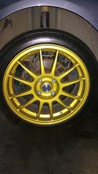 賣 正品 OZ 17吋 4 x 108 Superleggra (4孔 4H 108 FIESTA FOCUS 輕量