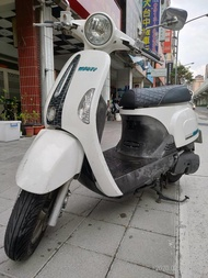 【大台中中古機車行】KYMCO 光陽機車 2012年MANY 白色110(可分期0元交車) 最低月付1996元