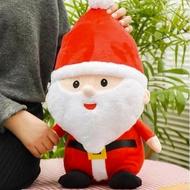 超萌聖誕老人 娃娃 麋鹿 抱枕 絨毛玩具 聖誕節 公仔 聖誕節 交換禮物【HL67】