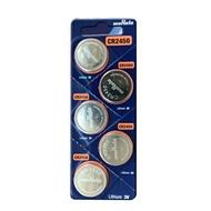 MuRata 村田CR 車用鈕扣電池 5入 / 卡 CR2450