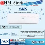 AUX Aircon 3.0 HP F-Series Split Type Inverter ( MODEL: ASW-30A2/FLDI )