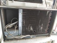 二手中古日立窗型冷氣,適用2-3坪,保固3個月,請加line帳號chin0290問