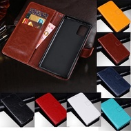 Samsung Galaxy A 51 Leather Magnetic Flip Stand Cover