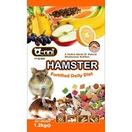 Q-nni寵物鼠水果大餐二款格規  500g  1.2kg倉鼠飼料