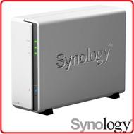 群暉 Synology DS120J 網路儲存伺服器 理想的入門款 NAS A3700雙核心搭WD硬碟