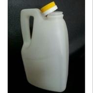 食品級 HDPE 塑膠瓶/塑膠罐/塑膠桶 3L