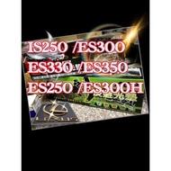 新-LEXUS凌志(00年後款)AGR 優質絨毛避光墊 IS250.ES300.ES330.ES350.ES250.ES300H