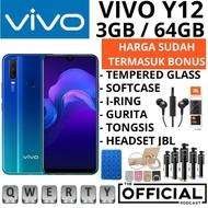 VIVO Y12 Y12i  3/64  RAM 3GB GARANSI RESMI VIVO 1 TAHUN - HP VIVO Y12 Y12I