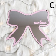 Children Cartoon Mirror Sticker Home Decoration For Home Nordic Wood Acrylic Mirror Frame Creative Home Wall Decorations Mirror