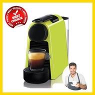 NESPRESSO เครื่องชงกาแฟ เครื่องชงกาแฟสด เครื่องทำกาแฟ เครื่องทำกาแฟสด เครื่องชงกาแฟอัตโนมัติ เครื่องชงกาแฟ nes รุ่น Essenza Mini สีเขียว ราคาถูก