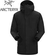 Arcteryx 始祖鳥 Therme 雪衣/防水大衣/羽絨衣/出國旅遊/保暖外套 男Gore-Tex保暖羽絨/化纖複合 12888 黑色