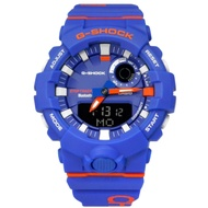 G-SHOCK CASIO / 雙顯撞色設計手錶-藍橘色 / GBA-800DG-2A / 46mm