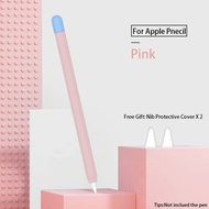 Protective Safety Case For Apple Pencil 1 2 Anti-lost Anti-Shock Slilicone Sleeve Cover For ipad Tablet touch pencil 2 1 Kits