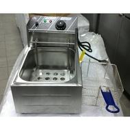 冠億冷凍家具行 不景氣大特價!king cook 8L油炸機/桌上型油炸機/電力式油炸機桌上型油炸鍋(自取價)