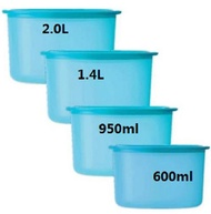 4pcs Tupperware One Touch Topper blue set (4)