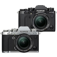 【預購】(公司貨)FUJIFILM X-T3 18-55mm 變焦鏡組黑色