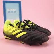 【iSport愛運動】 Adidas COPA 19.3 FG J 正品 D98080 足球釘鞋 中童鞋 黑x螢光黃