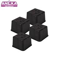 ANEKA Fridge/Washing Machine/ Cabinet Base Stand (4 Pcs)