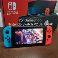 Nintendo Switch V2 Jailbreak SxCore Used