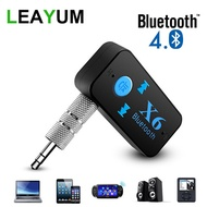 Bluetooth Adapter 3 in 1 Wireless 4.0 USB Bluetooth Receiver 3.5mm Audio Jack TF Card Reader