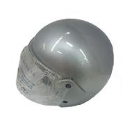 FP 半罩式安全帽(金屬扣) 銀色(KC317)[大買家]