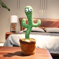 Lovely Talking Toy Dancing Cactus Doll Speak Talk Sound Record Repeat Toy Kawaii Cactus Toys