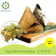 [ 10 pcs ] Vegetarian Salted Dumpling 咸味素棕子 / Vegetarian Food / Frozen Food