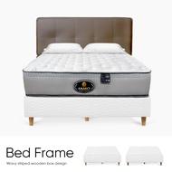 【 Famo 】 白色浪紋木箱式床架 獨立筒床墊必備下墊 床架 下墊 木箱 客製化商品 訂製品