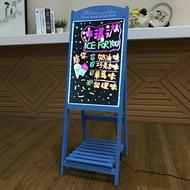 led電子螢光板廣告板發光小黑板廣告牌展示牌銀光閃光屏手寫字板WD  初语生活馆