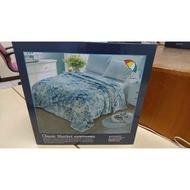 全新 雨傘牌毛毯 Arnold Palmer Classic Blanket 皇室御用絲絨雲毯  賣1500元