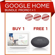 Google Nest Hub with Google Nest Mini Bundle (Buy 1 Free 1) UK Plug