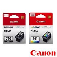 Canon PG-740 + CL-741 原廠黑彩墨水二入組合