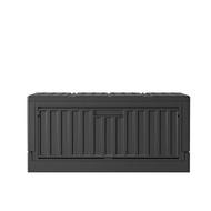 樹德 側開貨櫃箱FB-6432S 黑 收納箱 收納櫃 貨櫃箱 儲物箱