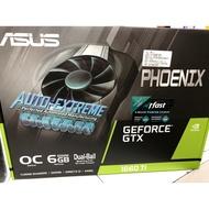 全新 華碩 PH-GTX1660TI-O6G 效能勝 GTX1070 RX580