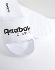 리복 Reebok Classic sliders in white bs7417